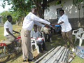 Manual Drilling of Wells in Ntoroko